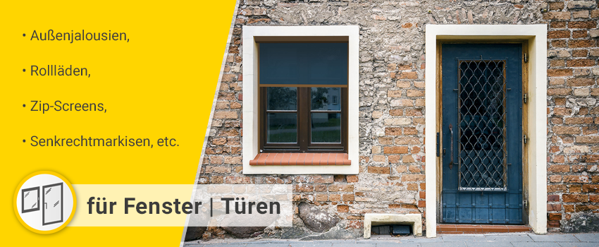 für Fenster | Türen Kategorie-Banner