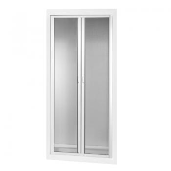 Insektenschutz-Doppelrollo für Türen