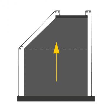 Textilscreen schräg S6/S7