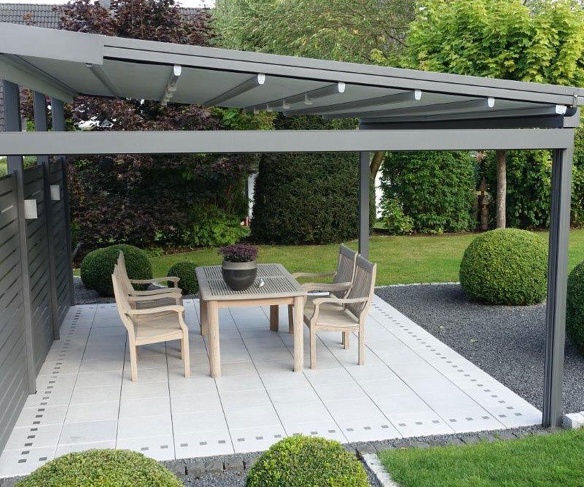 pergola aus stoff oder alu jetzt im onlineshop kaufen. Black Bedroom Furniture Sets. Home Design Ideas