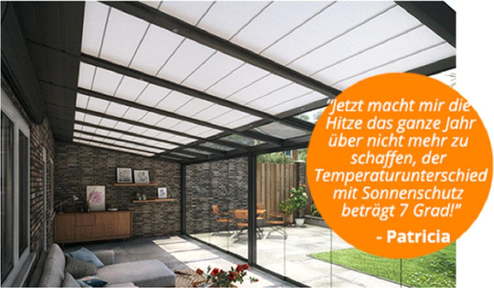 Terrassendach Warschau - Kundenzufriedenheit
