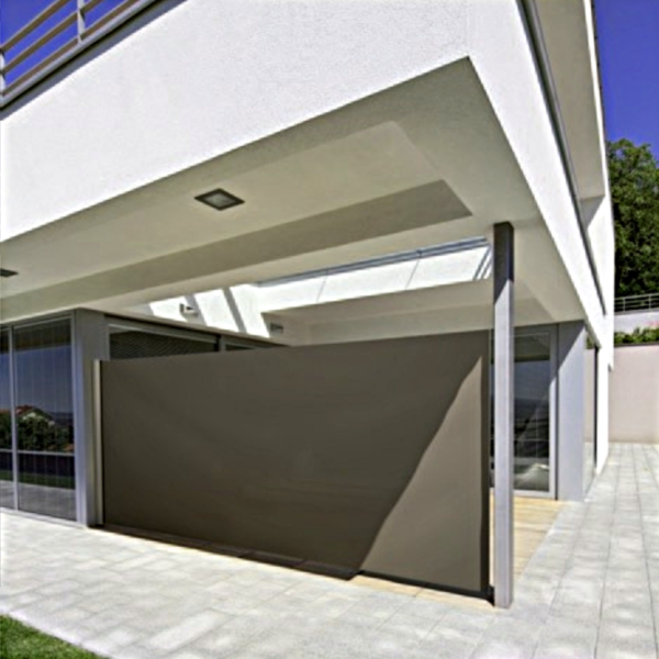 ma gefertigtes seitenzugrollo bis 4 m breit und 2 m hoch. Black Bedroom Furniture Sets. Home Design Ideas